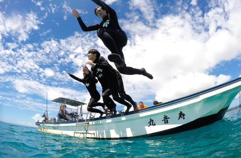 沖縄本島北部・早朝体験ダイビング(6-10月限定)