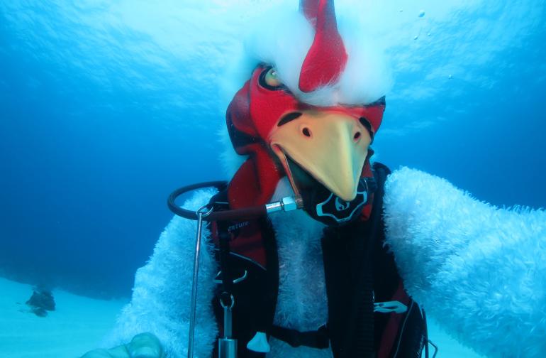 Funny Costume Diving 水中仮装ダイビング