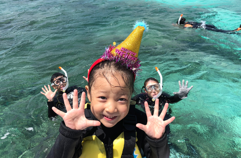 Happy Birthday Diving 水中誕生日
