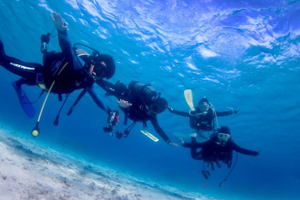 沖縄の海を最大限に楽しんでもらいます。